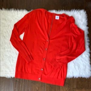 Cabi red cardigan